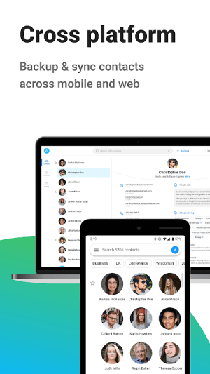 Android Contacts+ Screen 7