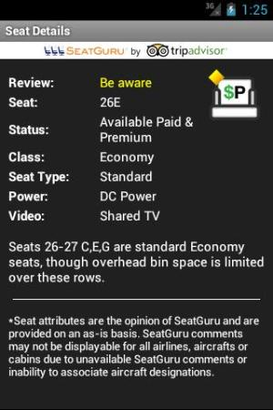 Seat Alerts by ExpertFlyer 1.93.0.0 Screen 3