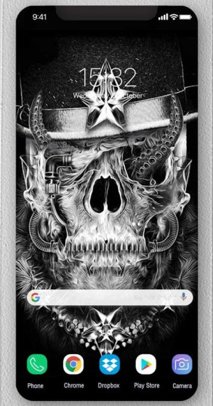 Android Skull Wallpapers and Backgrounds Screen 1