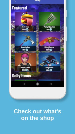 Android Fortbuddy - Companion for Fortnite Screen 4