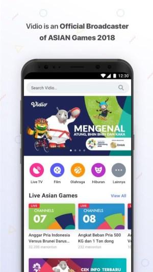 Vidio - Nonton Video & TV Indonesia SCTV, Indosiar 3.0.4 Screen 7