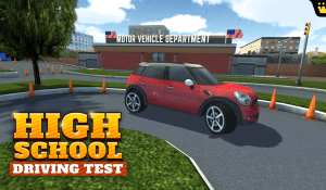 Android High School Driving Test Screen 4