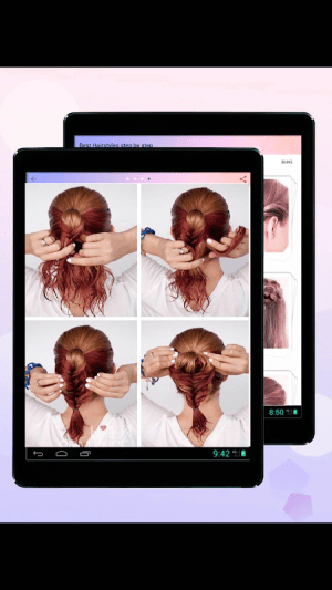 Hairstyles Step by Step 2019 2.0 Screen 4