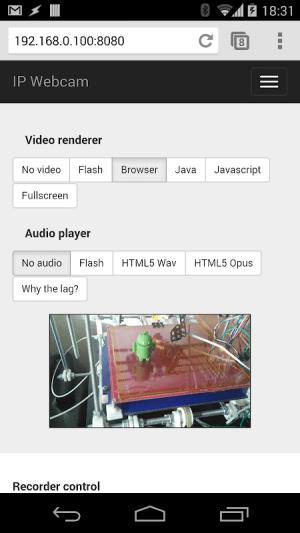 IP Webcam 1.14.31.737 (aarch64) Screen 2