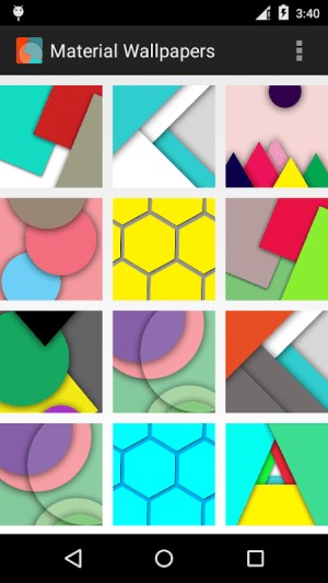 Android Material Design Wallpapers Screen 5