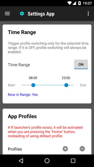 Settings App 1.0.158 Screen 1