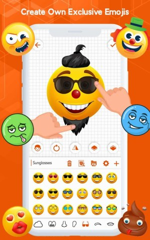 Android Emoji Keyboard - Emoji Maker, WASticker, Emoticons Screen 1