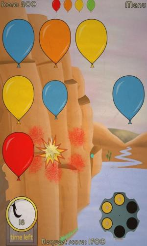 Android Shooting balloons games 2 Screen 1