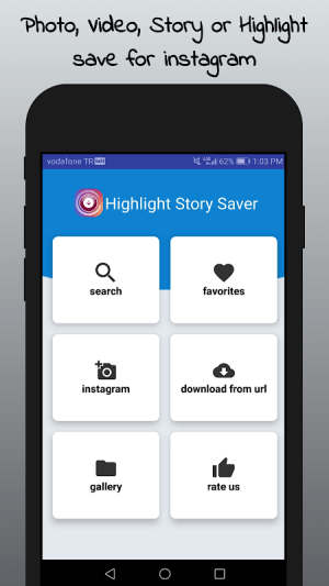 Android Highlight Story Saver for Instagram Screen 3