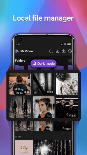 Android Mi Video - Play and download videos Screen 5