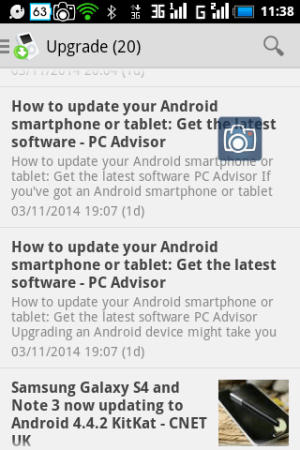 Update Android Phone 1.0.1 Screen 1