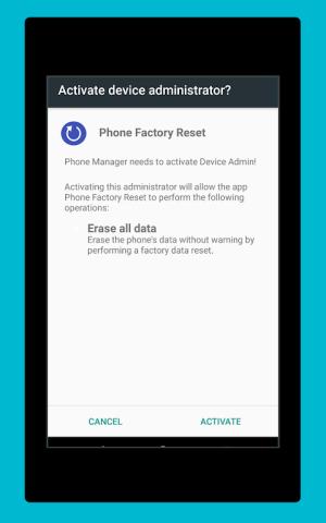 Phone Factory Reset 1.7 Screen 12