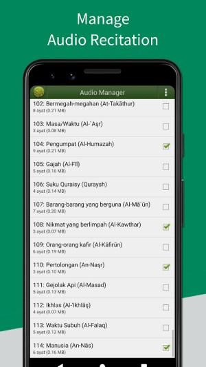 Al'Quran Bahasa Indonesia 4.5.6c Screen 8