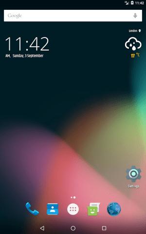 Simple weather & clock widget (no ads) 0.9.13 Screen 7
