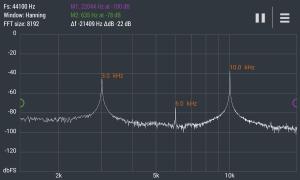 Advanced Spectrum Analyzer PRO 2.1 Screen 3