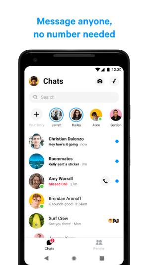 Messenger – Text and Video Chat for Free 253.0.0.17.117 Screen 5