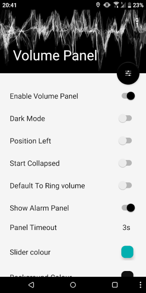 Volume Control Panel Pro 9.1 Screen 4