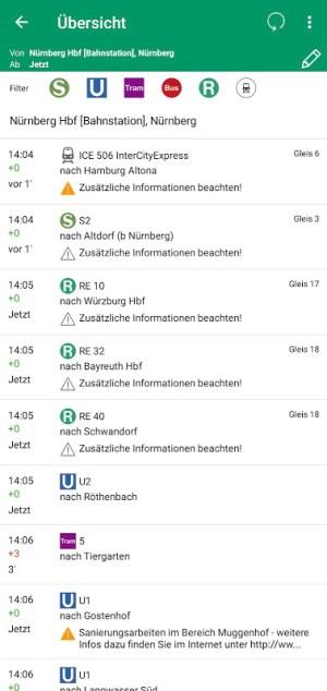 VGN Fahrplan & Tickets 5.69.19073 Screen 6