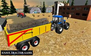 Heavy Tractor Trolley Driver Simulator Game 1.0 Screen 4