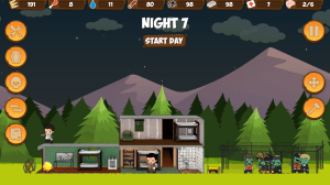 Android Zombie Forest HD: Survival Screen 2