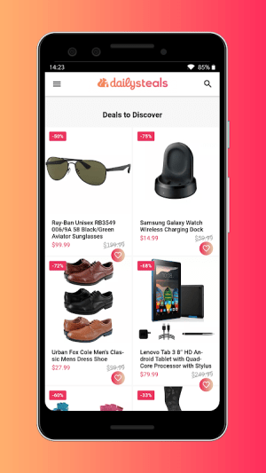 Daily Steals App 5.41.30 Screen 1