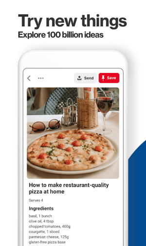 Pinterest 7.43.0 Screen 1