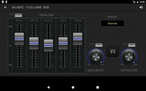 Music Volume EQ — Equalizer Bass Booster Amplifier 4.81c Screen 3