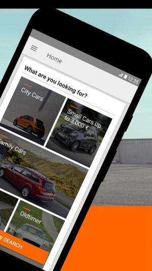 mobile.de – Germany's largest car market 7.27.1 Screen 1