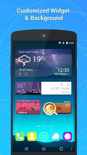GO Weather - Widget, Theme, Wallpaper, Efficient 6.163 Screen 6