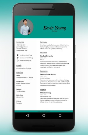 CV Maker Resume Builder PDF Template Format Editor 9.1.18.pro Screen 19