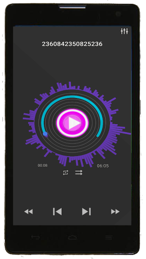 Android Music Player Screen 5