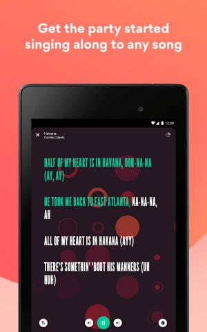 Musixmatch Lyrics 7.5.1 Screen 9