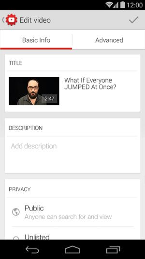 YouTube Creator Studio 1.5.3.0 Screen 2