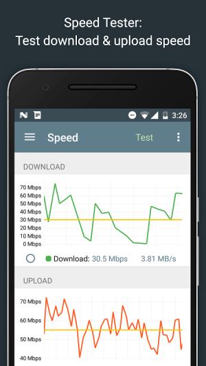 Network Analyzer Pro 2.1 Screen 2