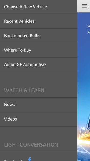 GE Auto Bulb Finder 1.0.0 Screen 4