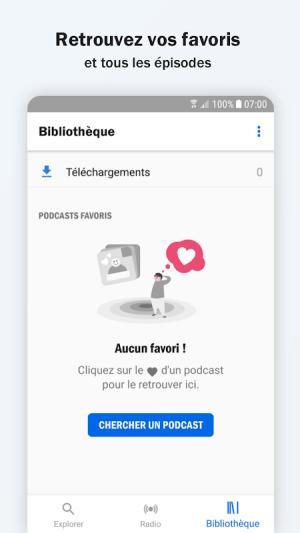 Radio France - podcasts, direct radios 5.18.0 Screen 5