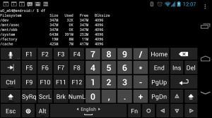 Hacker's Keyboard v1.41.1 Screen 2
