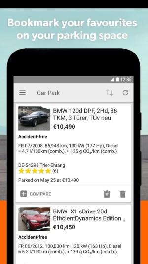 mobile.de – Germany's largest car market 7.27.1 Screen 4