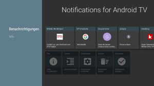 Notifications for Android TV 4.6.0 Screen 7