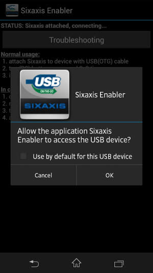 Sixaxis Enabler 1.1.0 Screen 3