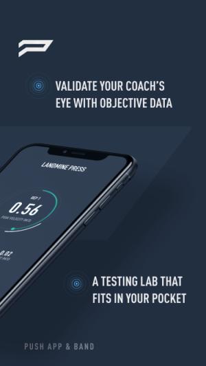 PUSH Pro - Athletic Training Tracker 7.4.0 Screen 1