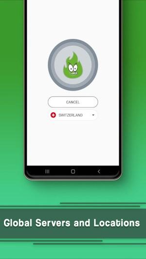 VPN Free - GreenNet Unlimited Hotspot VPN Proxy 1.5.2 Screen 1