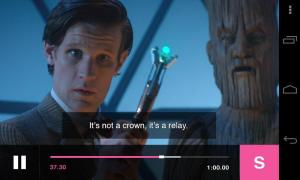 BBC Media Player 3.0.0 Screen 1
