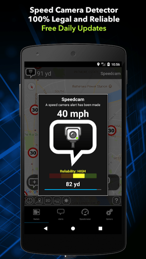 Speed Camera Detector Free 6.66 Screen 4