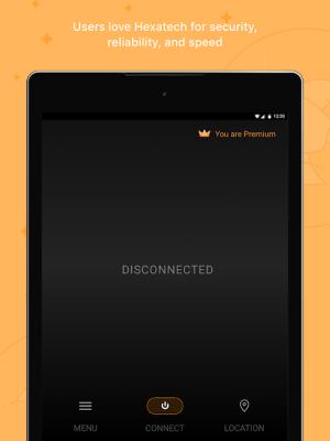 VPN Proxy by Hexatech - Secure VPN & Unlimited VPN 3.0.3 Screen 1