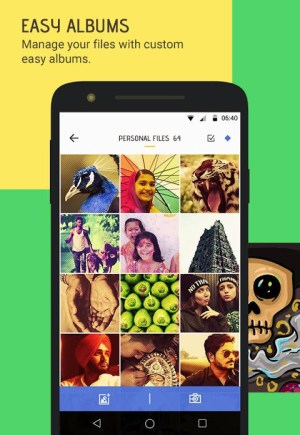 Android Skullock Photo vault: Lock private photos & videos Screen 16