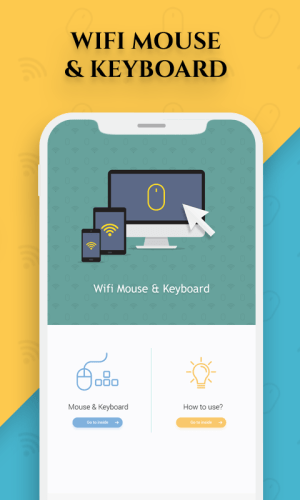 Android WiFi Mouse : Remote Mouse & Remote Keyboard Screen 2