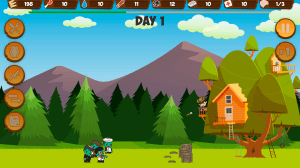 Zombie Forest HD: Survival 1.23c Screen 1