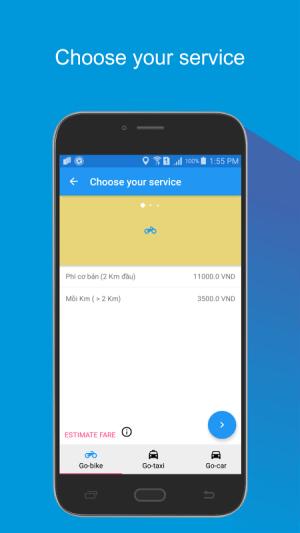 Go ixe call taxi 1.2.9 Screen 3