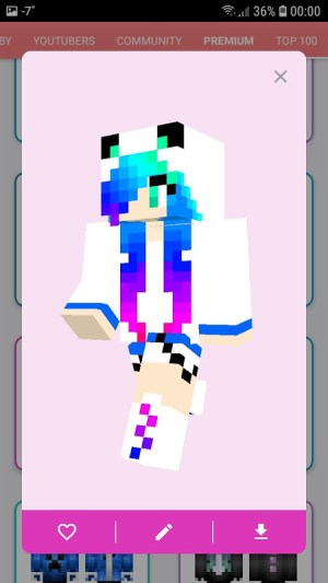 Android Skins MASTER for MINECRAFT (30 000 Skins) + Editor Screen 9